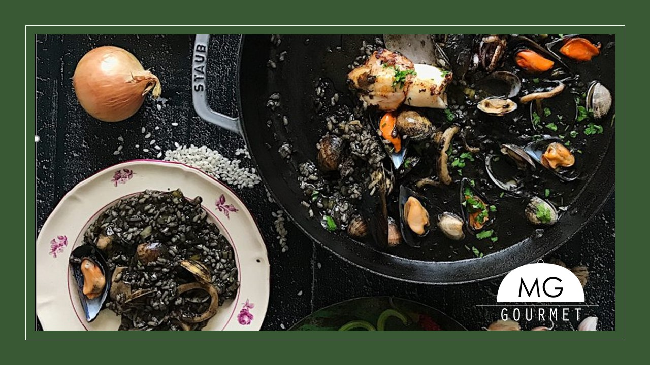 Especialidad en arroces, Arroz Negro