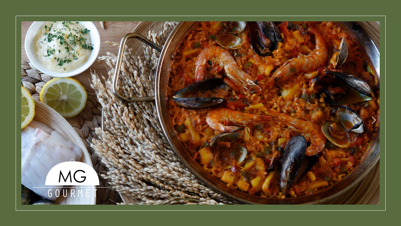 Especialidad en arroces, Paella o Fideua de Marisco